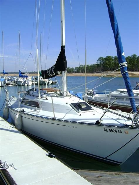 Boat Transport Lake Lanier by 1985 C C 27 Mkv Sail Boat For Sale Www Yachtworld