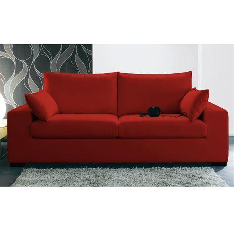 canap 233 3 places rouge meilleures ventes boutique pour