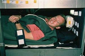 Sleep: How can they sleep when they are floating in space?