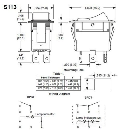Wiring Diagram For 2 Pole Rocker Switch by Lighted Rocker Switch Wiring Diagram Decoratingspecial
