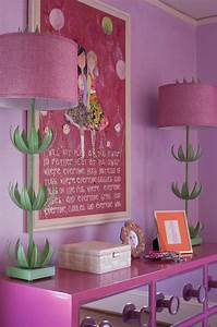 Pink Mirrored Dresser Contemporary Girl39s Room Lucy