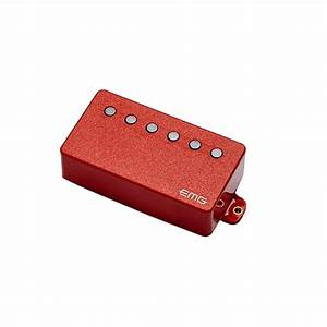 Caso Emgs 25 : emg 66 6 cordas humbucker pickup vermelho na ~ Indierocktalk.com Haus und Dekorationen
