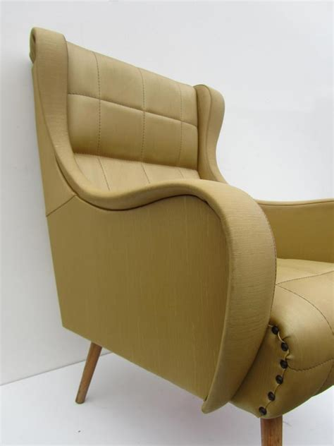 italian mid centrury lounge arm chair for sale at pamono