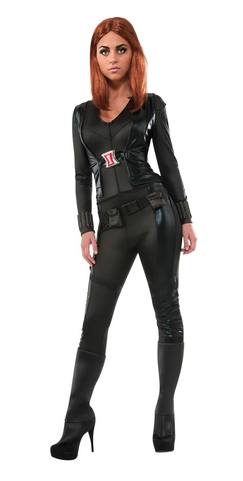 Black Widow Teen Womens Marvel Costume R886334 Extra