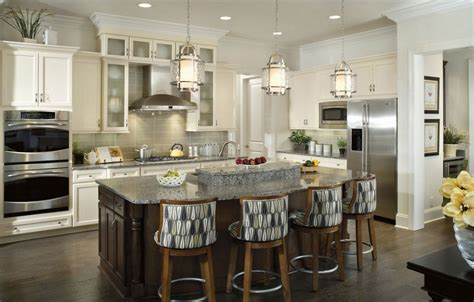 The Best Choice For Kitchen Island Lighting Fixtures Black And White Tile Kitchen Floor Freestanding Island With Seating Cabinets Dark Countertops Small Table 4 Chairs Paint Colors Updated Kitchens Ideas Gloss Two
