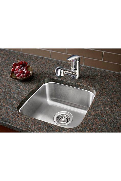blanco single bowl undermount bar sink   peninsula  range wall color stainless steel