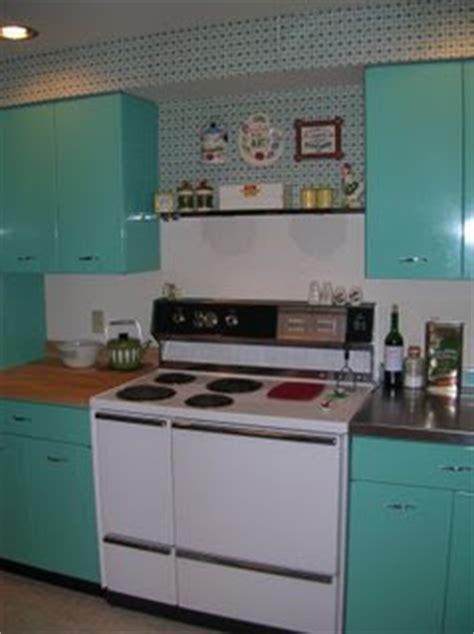 jenn ski 1963 geneva steel kitchen cabinets in aquamarine