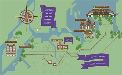 The Great Gatsby Map Design Survey