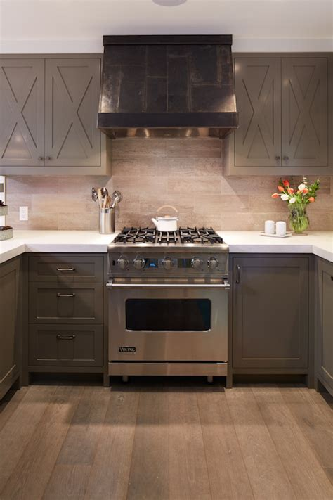 taupe cabinets contemporary kitchen artistic designs  living