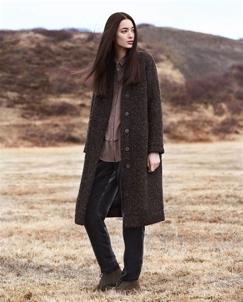 poetry fashion de poetry fashion length wool coat e c o 183 w e a r elemente