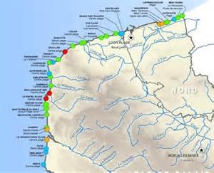Carte Des Plages Nord by Qualit 233 Des Eaux De Baignade En Nord Pas De Calais Trois