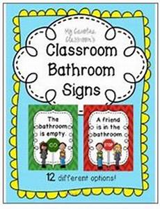 classroom bathroom signs stop go 12 options With bathroom signs for classroom