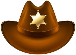 quality photo albums cowboy hat with sheriff badge transparent png clip