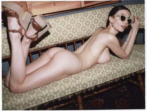 Model Olivia Rose topless by Jonathan Leder