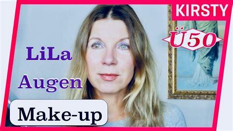 reife haut make up 220 50makeup augen make up lila schnelles make up f 252 r reife haut tutorial kirsty coco