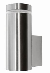 Außenleuchte Edelstahl Led : edelstahl au enleuchte wandlampe wandleuchte ip65 au en led gu10 ebay ~ Watch28wear.com Haus und Dekorationen