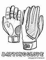 Coloring Baseball Pages Gloves Glove Football Drawing Sheet Batting Colouring Boys Batters Yescoloring Printable Fired Getdrawings Getcoloringpages sketch template
