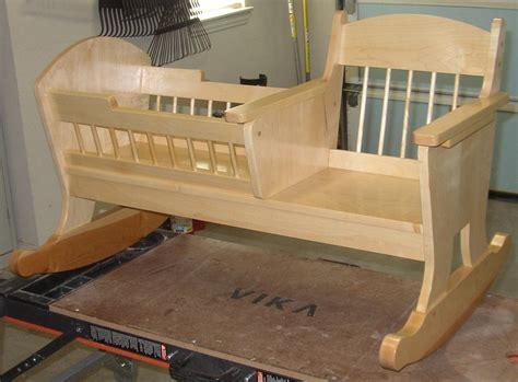 wooden baby cradle designs  baby cradle plans