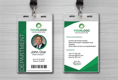 Professional Id Card Design Within 24 Hours For