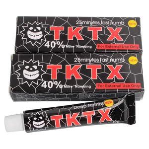 tktx numbing cream tattoo body anesthetic fast numb cream