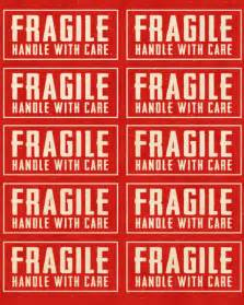 Fragile Labels Printable