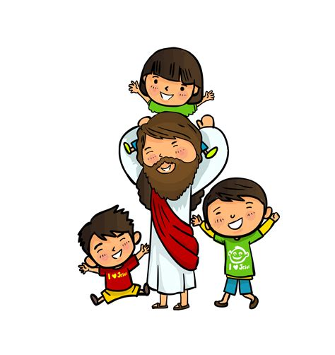 Jesus Clipart Jesus With Children Clipart Www Imgkid The Image