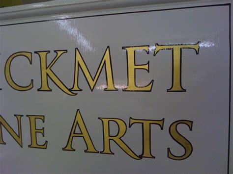 gold leaf lettering painted gold leaf lettering with a outline