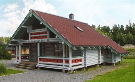 log cabin kits finnish log house finland total area
