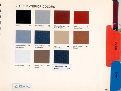 what color is mercury ascmclarencoupe upholstery books