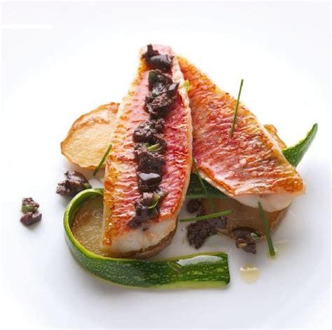 ecole cuisine alain ducasse recipe of the month fried fillet of surmullet alain