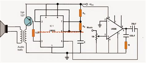 Class Amplifier Circuit Using Diagram