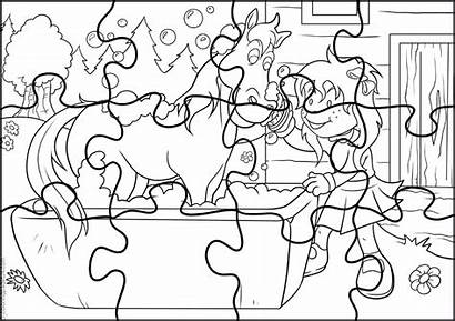 Rompecabezas Quebra Cabeca Colorir Puzzle Colorear Imprimir
