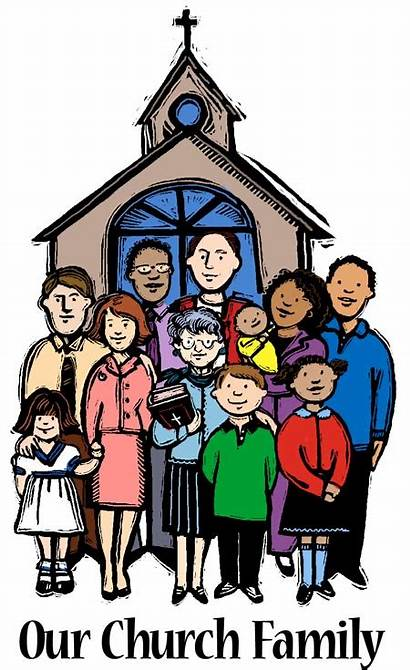 Church Clipart Families Clip Support God Graphic