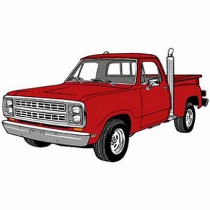 Truck Clipart Ford Vector Pickup Classic Trucks