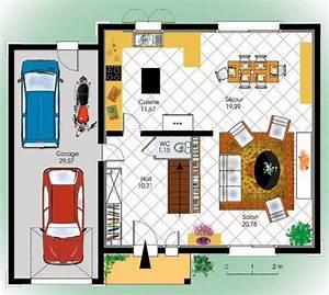 maison de ville detail du plan de maison de ville With plan de maison a etage 0 maison de ville econome detail du plan de maison de