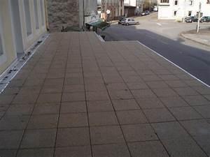 etancheite d39une terrasse avec pose de dalles sur plots With etancheite d une terrasse