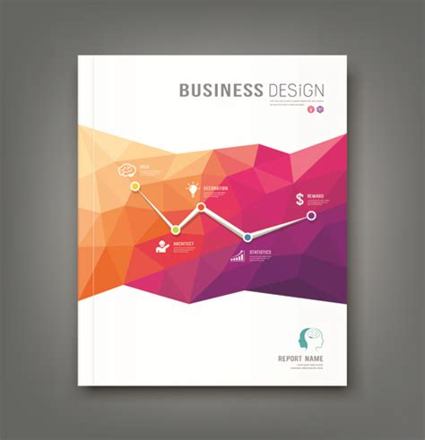 business cover page design  vector