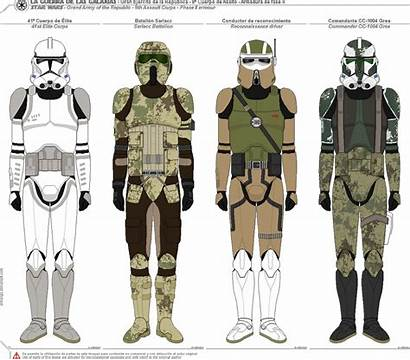 Clone Wars Trooper Army Republic Characters Stars