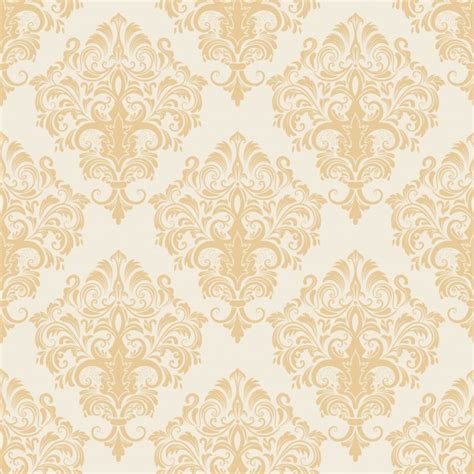 baroque powerpoint template free vector damask seamless pattern background classical
