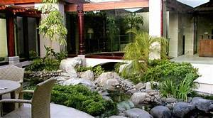 deco jardin exterieur zen 20 idees d39inspiration With beautiful faire un jardin zen exterieur 12 fontaines exterieur style moderne