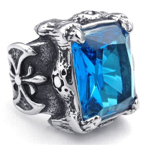 316l Stainless Steel Cool Silver Blue Dragon Claw Big Cz. Unrefined Engagement Rings. Manly Engagement Rings. Kris Humphries Ring Engagement Rings. Baby Pink Wedding Rings. Citrine Stone Wedding Rings. Asymmetrical Wedding Rings. Ridiculously Wedding Rings. Pierced Wedding Rings