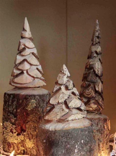 chainsaw carved pine christmas tree pine change