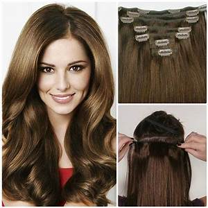 Nadula Cheap Real Remy Human Hair Extensions Clip In Full