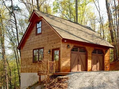 Garage Plans For Log Homes  House Design Plans