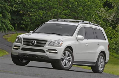 The interior has received minor tweaks and adjustments, including directional lines for the rearview camera. 2012 Mercedes-Benz GL Class Pictures/Photos Gallery - The Car Connection
