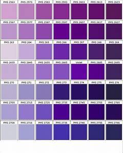 nuancier pantone biolet bleu deco nuanciers With nuance de couleur peinture