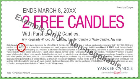 yankee candle coupons special offers yankee candle