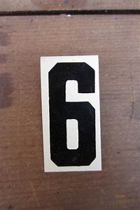 1000 images about number 6 on pinterest With small metal letters for signs
