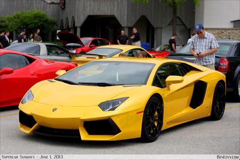 Yellow Lamborghini Aventador Benlevy Com