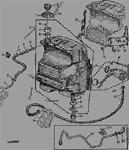 Fuel Tank  23  - Tractor John Deere 2155 - Tractor